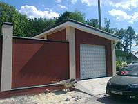 Строительство гаража под ключ.