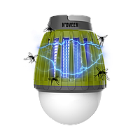 Светодиодная лампа от насекомых аккумуляторная Noveen IKN824 LED IPХ4, фото 1