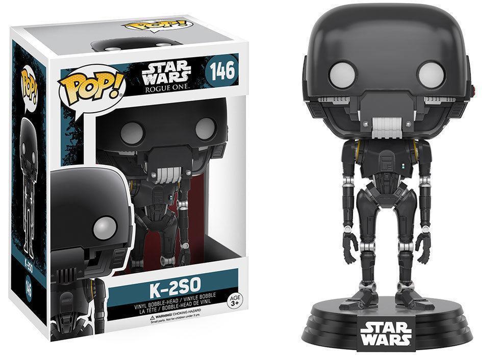 Фигурка Funko Pop Фанко Поп Star Wars K-2SO Droid Звездные войны Кей-Туэссо 10 см SW146