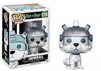 Фигурка Funko Pop Фанко Поп Rick and Morty Рик и Морти Snowball Снежок 10 см RM S 178