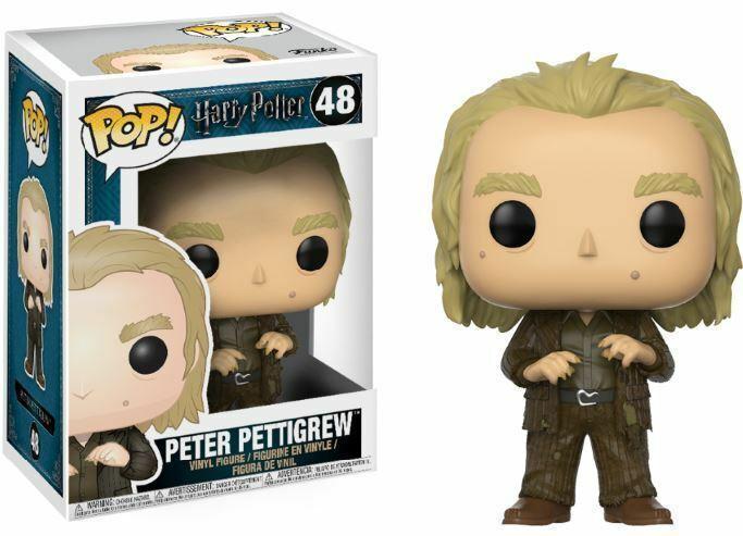 Фигурка Funko Pop Harry Potter Peter Pettigrew Гарри Поттер Питер Петтигрю 10 см HP PP48