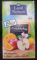 Чай фруктовый Lord Nelson Bio-Fruchtetee в пакетиках