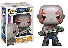 Фигурка Funko Pop Guardians of the Galaxy Drax Стражи Галактики Дракс GG D200