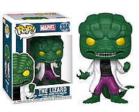 Фигурка Funko Pop Фанко Поп Marvel The Lizard Марвел Ящер Курт Коннорс M L334