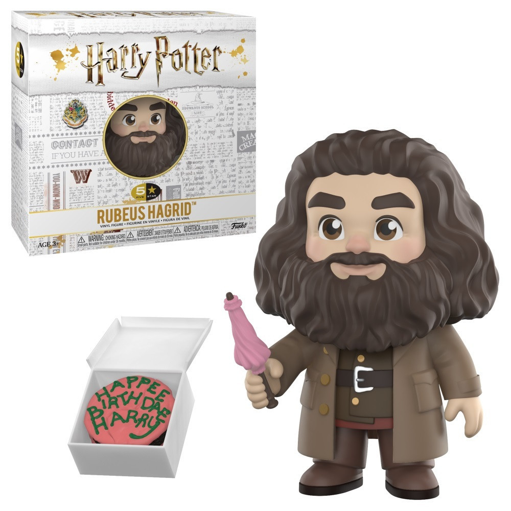 Фигурка Funko Harry Potter 5 Star FigureRubeus HagridРубеус Хагрид 9.5cм HP RH192