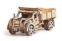 Собранная модель конструктора Грузовик. Сувенир из дерева Wood trick. Гарантия качества (Опт, дропшиппинг), фото 1