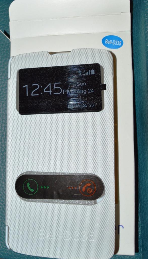 LG D335 L Bello Dual Задняя крышка. Флип чехол Flip LG D335