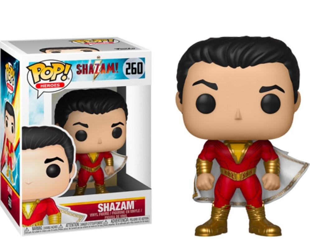 Фигурка Funko Pop Фанко ПопГерои Шазам Heroes Shazam 10 см DC S 260