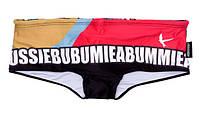 Плавки AussieBum красно-черные