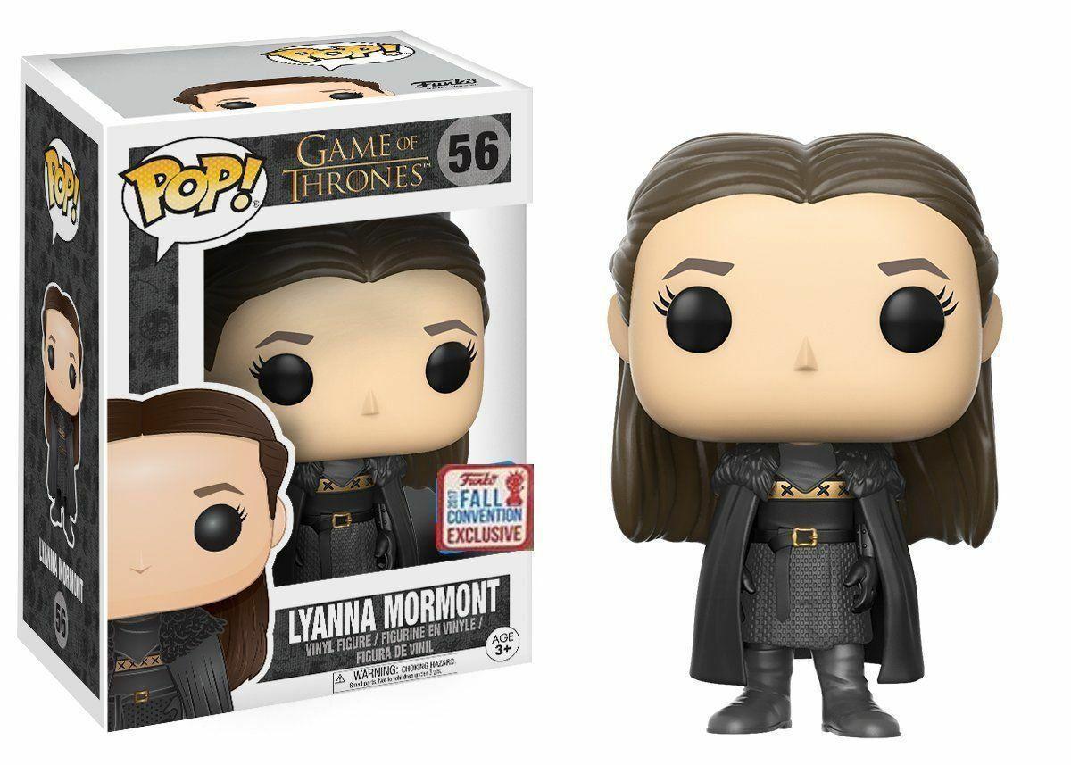 Фигурка Funko Pop Exclusive Фанко Поп Лианна Мормонт Игра престолов Game of Thrones Lyanna Mormont GTLM56