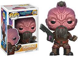 Фигурка Funko Pop Фанко ПопШокерфейс Стражи Галактики Marvel Guardians of the Galaxy 2: Taserface