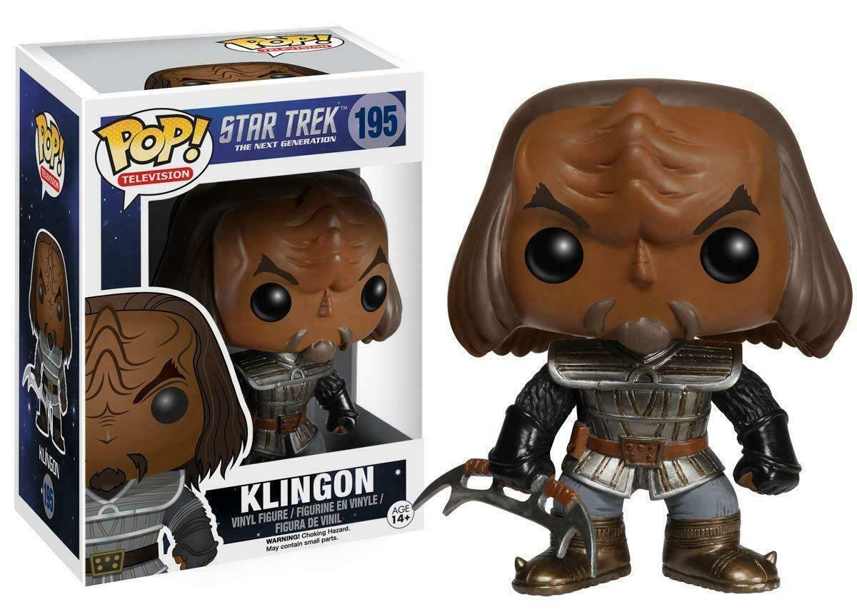 Фигурка Funko Pop Фанко Поп Звездный Путь Клингон Star Trek Klingon 10 см ST K 195