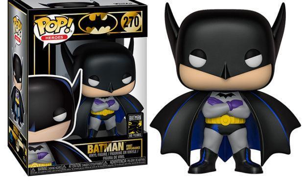 Фигурка Funko Pop Фанко Поп ДС Бэтмен Batman 80th - Batman 1st Appearance (1939) DC B270