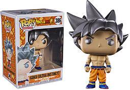 Фигурка Funko Pop Фанко ПопСон Гоку Жемчуг дракона Dragon Ball Super Goku Ultra Instinct Form DB G386