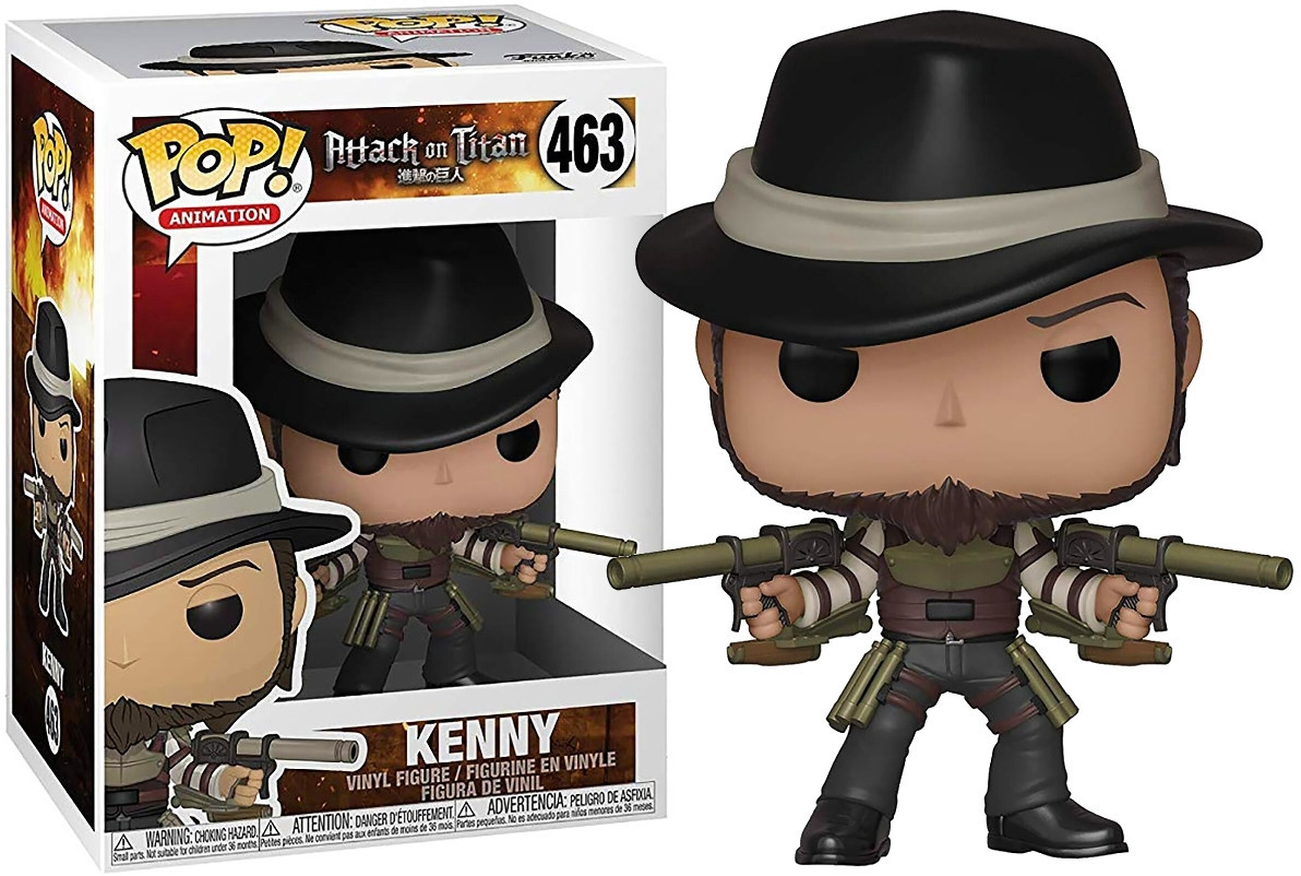 Фигурка Funko Pop Фанко Поп Кенни Атака титанов Attack on Titan Kenny  AoT K463