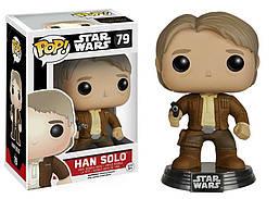 Фигурка Funko Pop Фанко Поп Звёздные войны Хан Соло Star Wars Han Solo 10 см SW HS 79