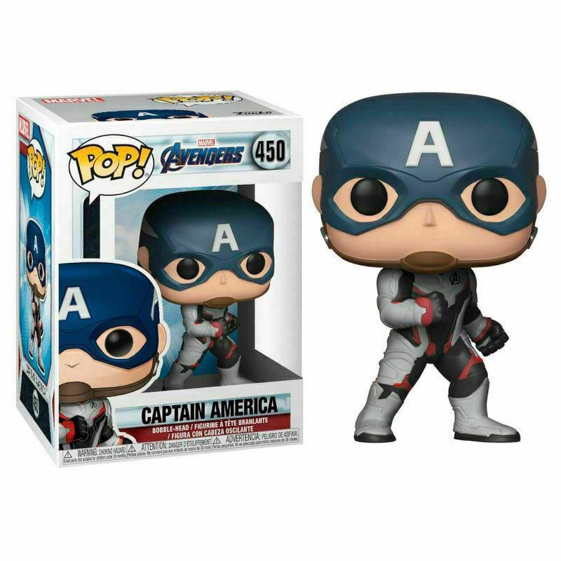 Фигурка Funko Pop Фанко Поп Мстители Финал Капитан Америка Avengers End Game Captain America 10 см A CA 450