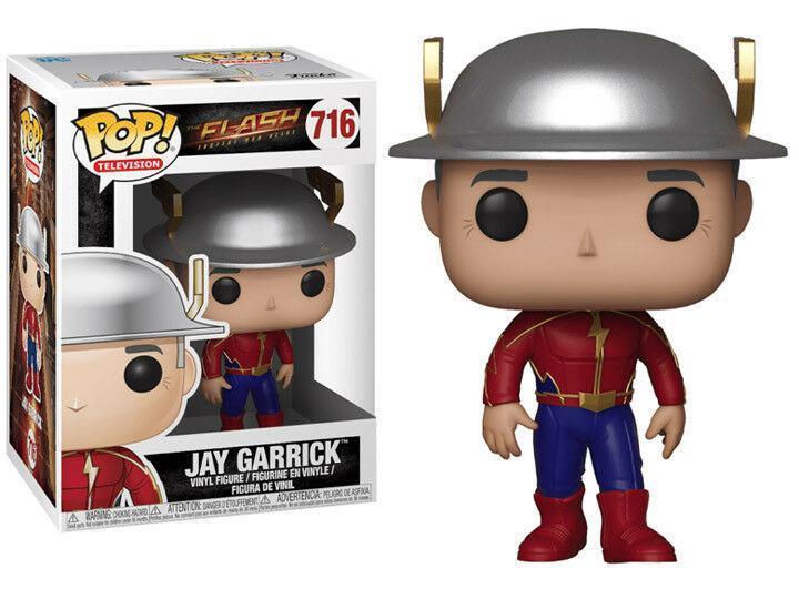 Фигурка Funko Pop Фанко Поп Флэш Джей Гаррик The Flash Jay Garrick 10 см FL JG 716