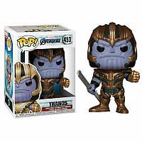 Фигурка Funko Pop Фанко Поп Мстители Танос Avengers Thanos 10 см A T 453