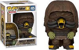 Фигурка Funko Pop Фанко Поп Фаллаут Крот-шахтёр Fallout Mole Miner 10 см F MM 485