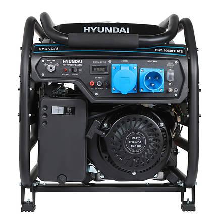 Бензиновый генератор Hyundai HHY 9050FE, фото 2