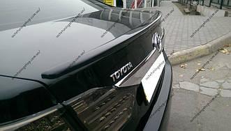 Спойлер Lip Toyota Camry 50/55 (2011-2016) ABS-пластик