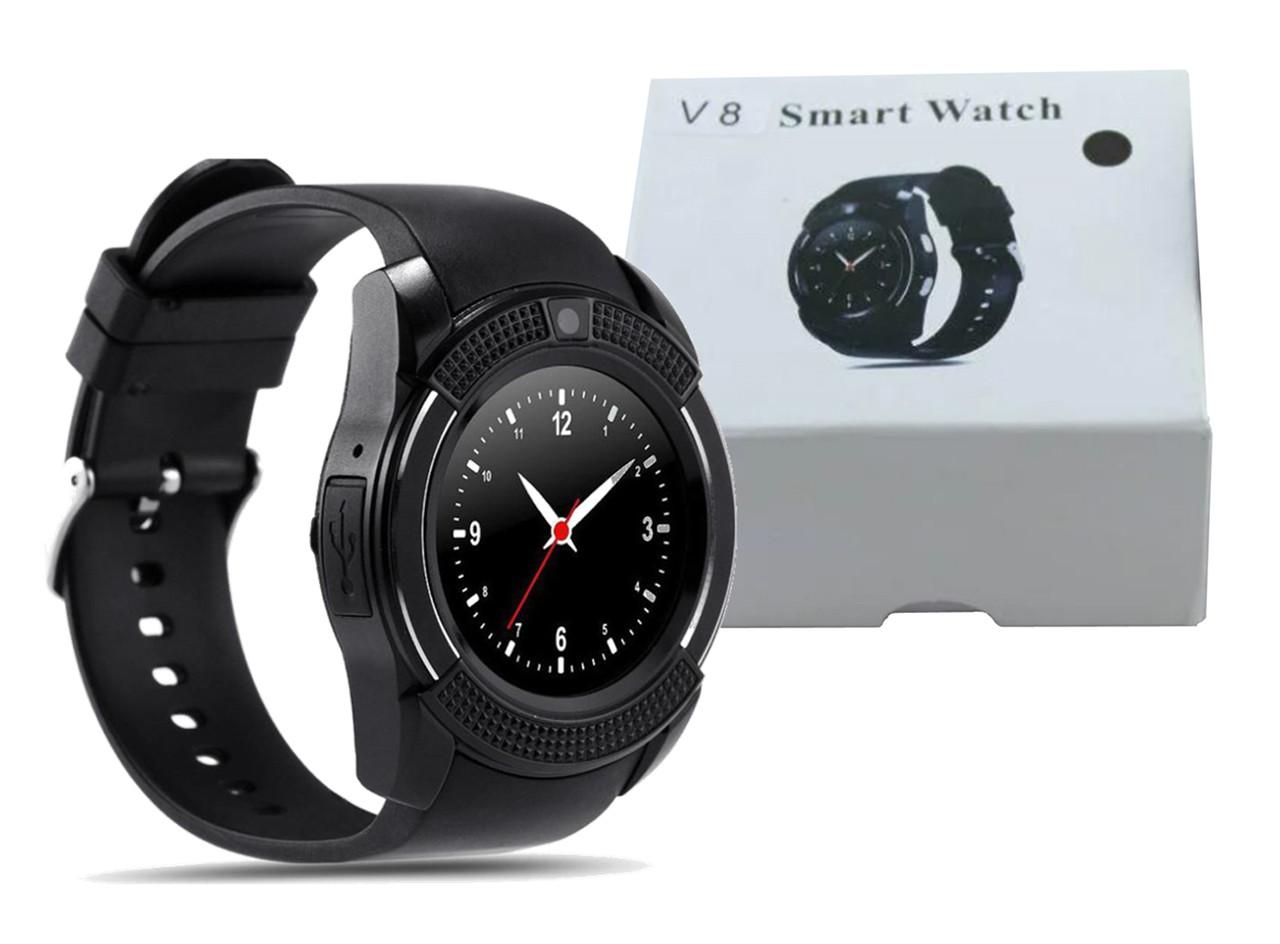 Умные часы Smart Watch V8 (Черный)