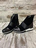 Демисизонная детская и подростковая обувь из натуральной кожи и замши