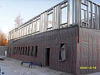 Строительство из ЛСТК. Производство, доставка и монтаж по всей Украине.