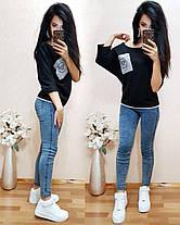 Стильная футболка, размеры 42-44,44-46,46-48, фото 3