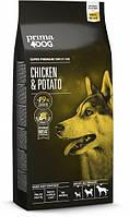 Сухой корм для собак всех пород Prima Dog с курицей и картофелем12 кг