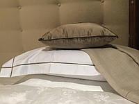 Набор постельного бнлья 220х240 (евро-макси) SATIN STITCH  HAMAM