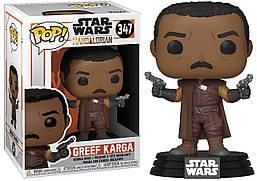 Фигурка Funko Pop Фанко ПопGreef Karga Star Wars MandalorianГреф Карга Звёздные войныМандалорец  SW GK347