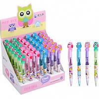 Ручка шариковая автоматическая «Сова»
