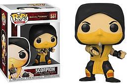 Фигурка Funko Pop Фанко Поп СкорпионМортал Комбат Mortal KombatScorpion10 см MK LK 537