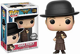Фигурка Funko Pop Фанко Поп Чудо женщина Диана Принс Wonder Woman Diana Prince 10 см WW DP 230