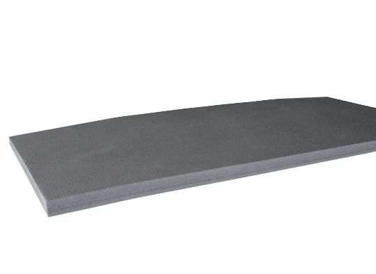 Мат гімнастичний Verdani 2000х1000х40 мм Сірий