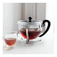 Чайник заварочный Bodum Chambord с железным ситом 1,5 л, фото 1
