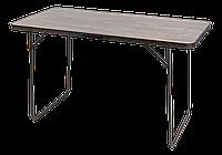 Стол для пикника складной TE 021 MS Черный 122*61*71 см (Time Eco TM)