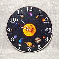 Часы для кабинета географии и астрономии Солнечная система