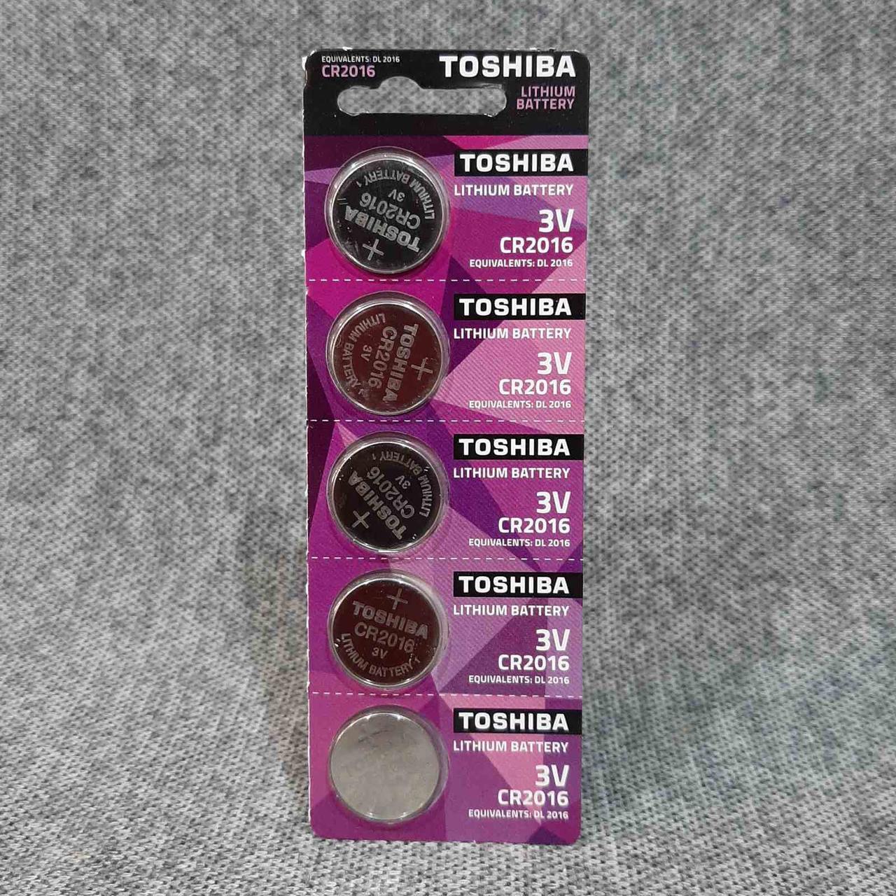 Батарейки Toshiba CR2016