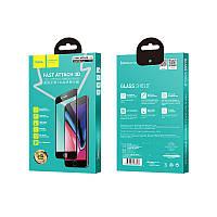 Защитное стекло Hoco 3D Fast Attach Full Screen Tempered Glass для iPhone 7/8 White (A8)