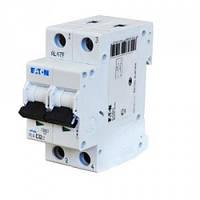 Автоматический выключатель PL4 Eaton (Moeller)-C6/2  2Р 6А тип С 4,5кА