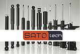 Амортизатор задний Mercedes E200 S211 2003- газ-масло SATO tech, фото 2