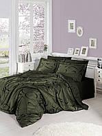 Комплект постельного белья First Choice Сатин Calisto haki