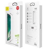 Защитное стекло Baseus Anti-Break Edge iPhone X (SGAPIPHX-KE01) Black (0.23mm)