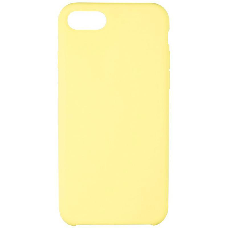Original 99% Soft Matte Case для iPhone 7/8 Sun Yellow