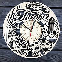 Концептуальные деревянные часы «Театр», фото 1