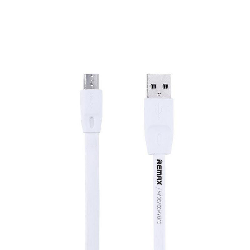 Кабель USB Remax Full Speed RC-001m microUSB White 2m (5-012)