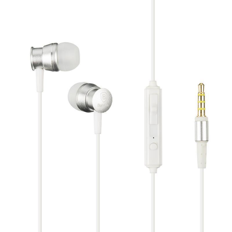 Наушники MP3 Baseus EL-01 Lark Series Wired (WEBASEEJ-LAOG) Grey